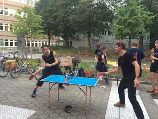 Zur Entspannung ... Tischtennis
