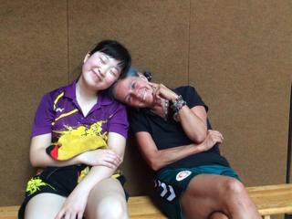 Mengchi und Sabine